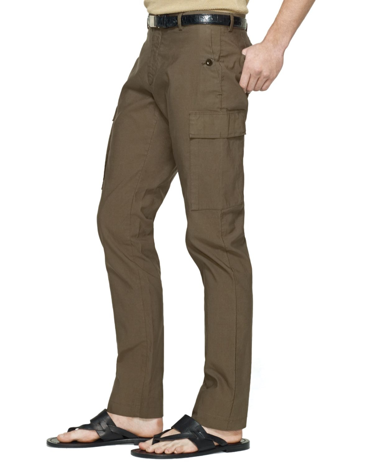 Ralph lauren Black Label Stretch Twill Cargo Pants Slim Fit in ...