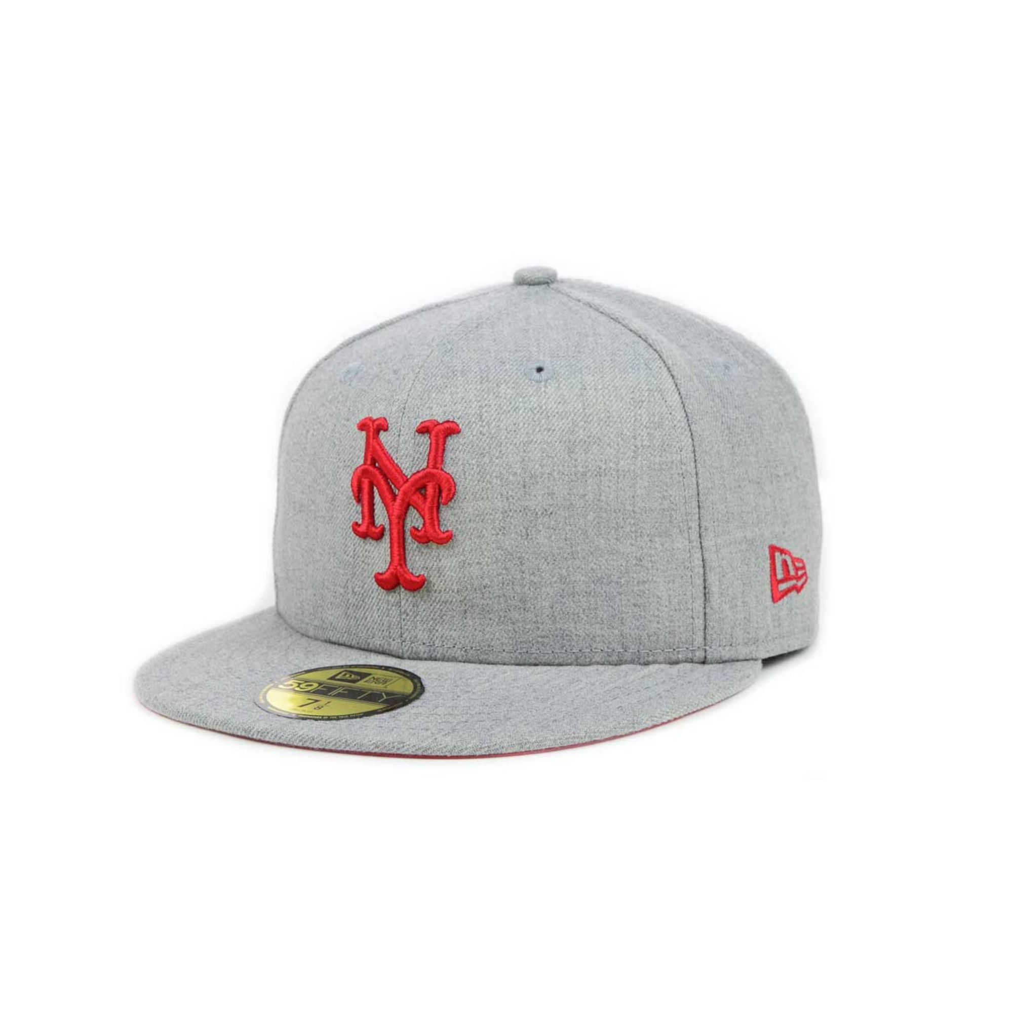 huge discount 53240 6f693 ... sweden lyst ktz new york mets mlb heather basic 59fifty cap in gray for  men 23646