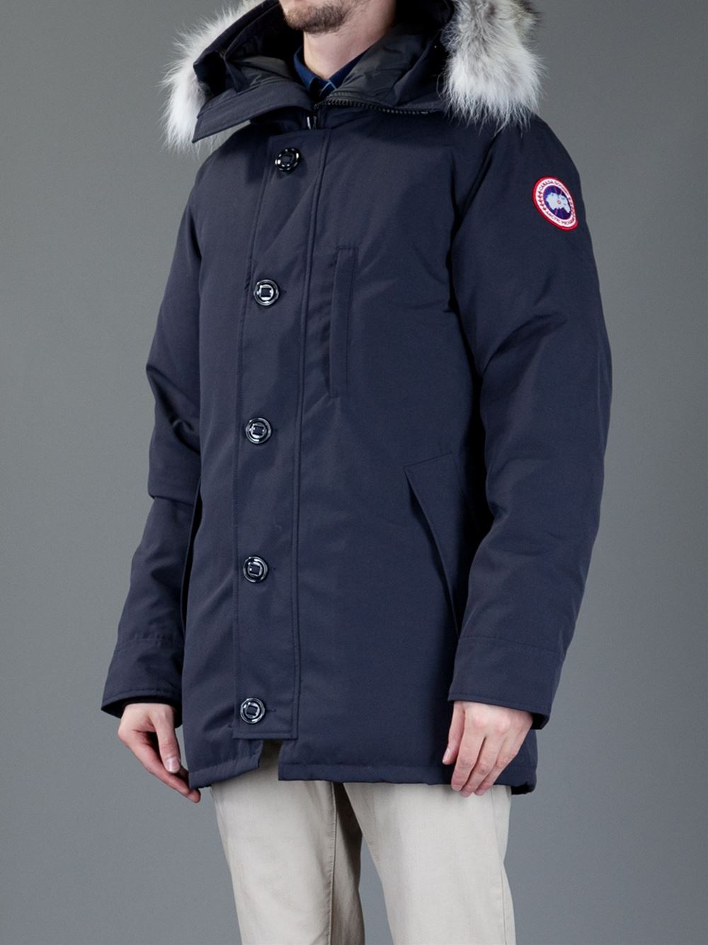 33e5f8a0671 Canada Goose 'chateau' Parka in Blue for Men - Lyst