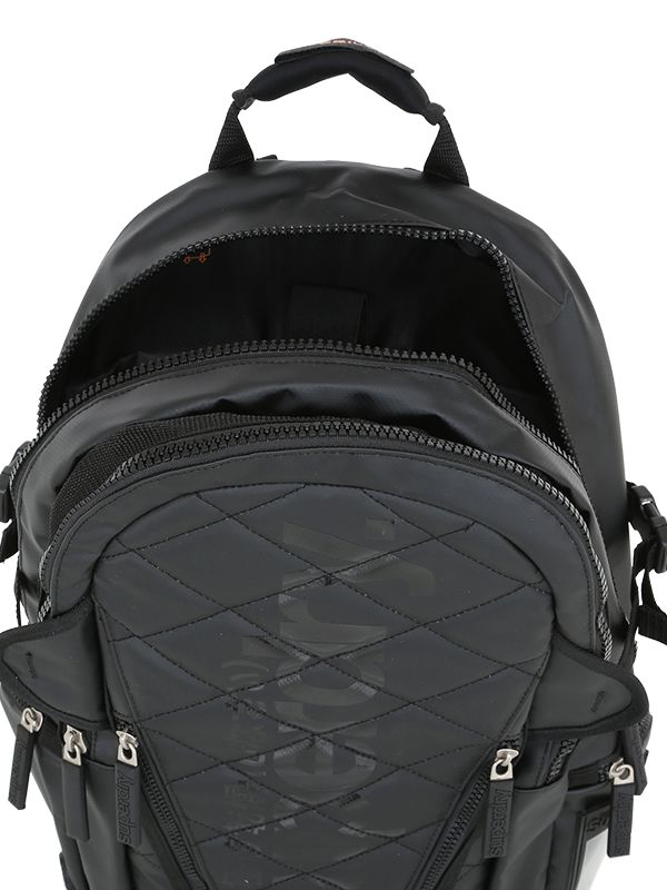 Superdry Quilted Rubber Backpack in Black for Men | Lyst : superdry quilted rucksack - Adamdwight.com