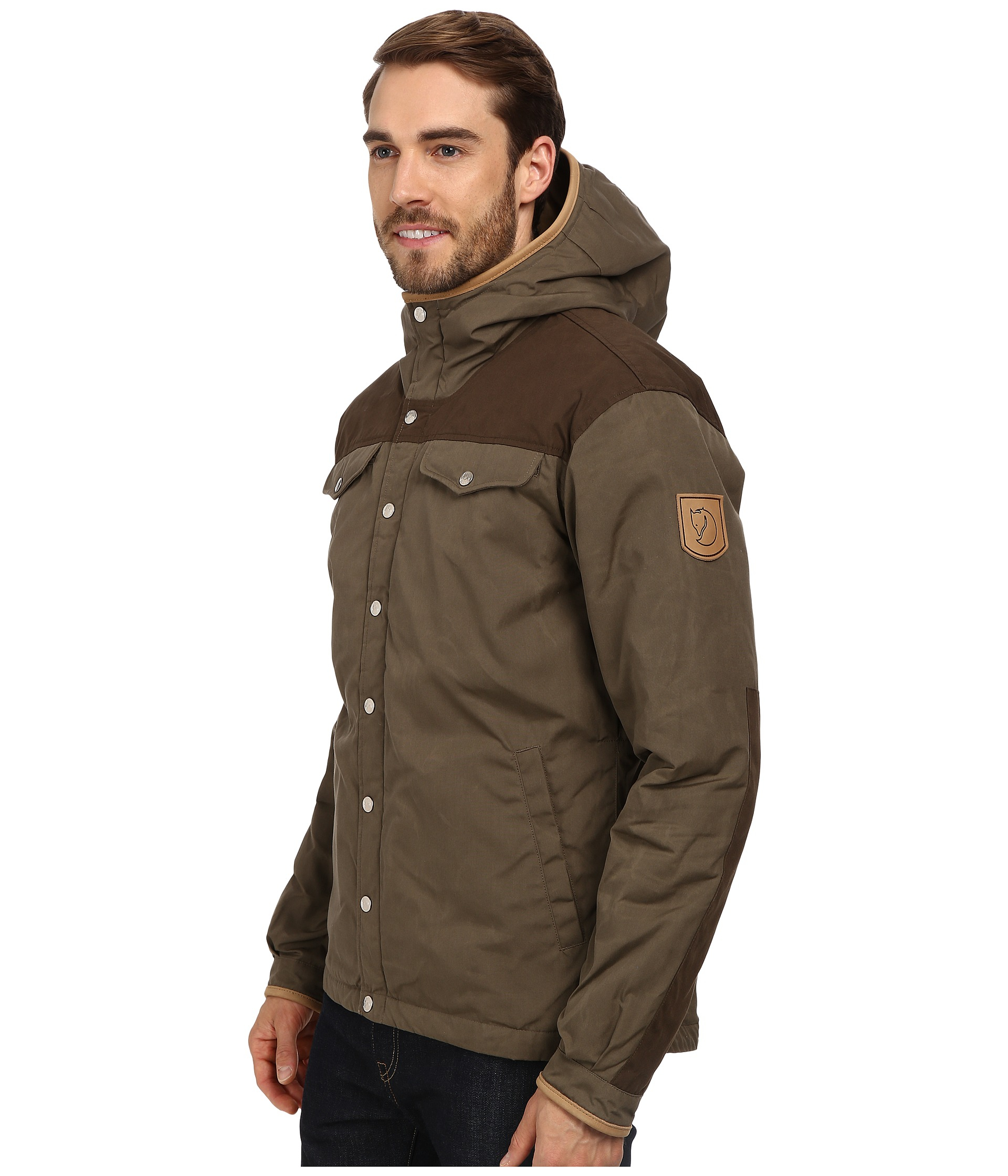 e3d8fc0bf2e3 Lyst - Fjallraven Greenland No. 1 Down Jacket in Green for Men