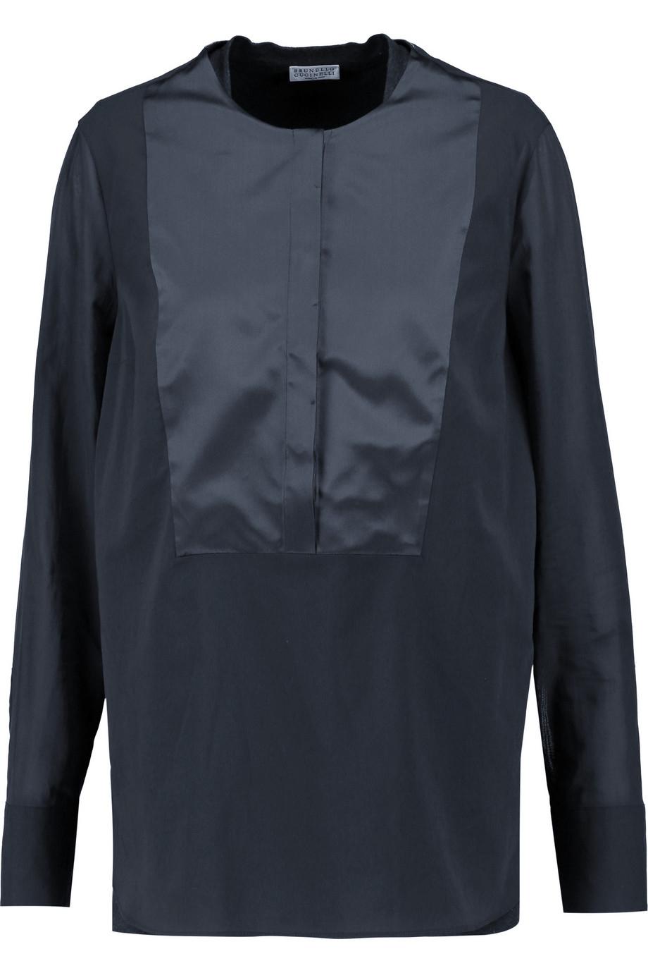 Gray Cotton Blouse 13