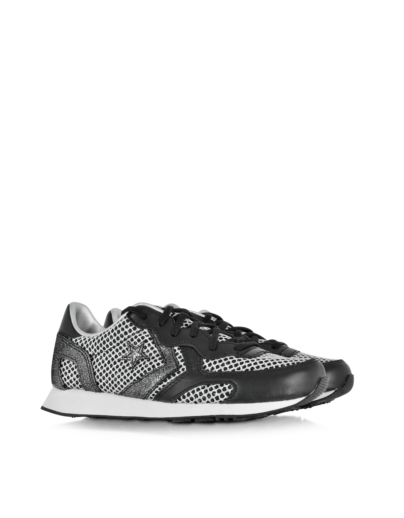 AUCKLAND RACER OX SEQUINS/LEATHER METALLIC - FOOTWEAR - Low-tops & sneakers Converse BtfnSfbCAR