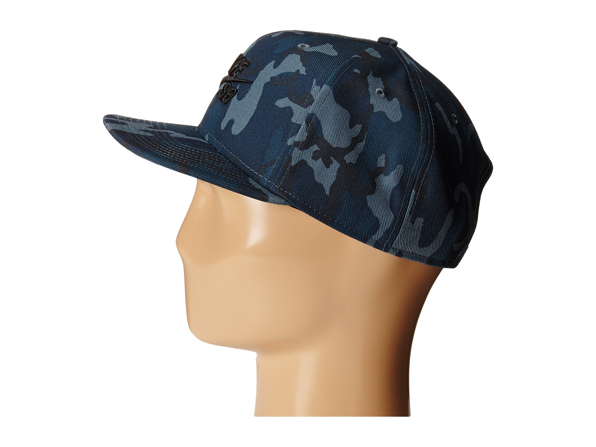 d6bb7357d12 reduced nike sb snapback cap sb camouflage e272e 4ec1a  official lyst nike  performance camo trucker hat in blue for men 73c62 129f7