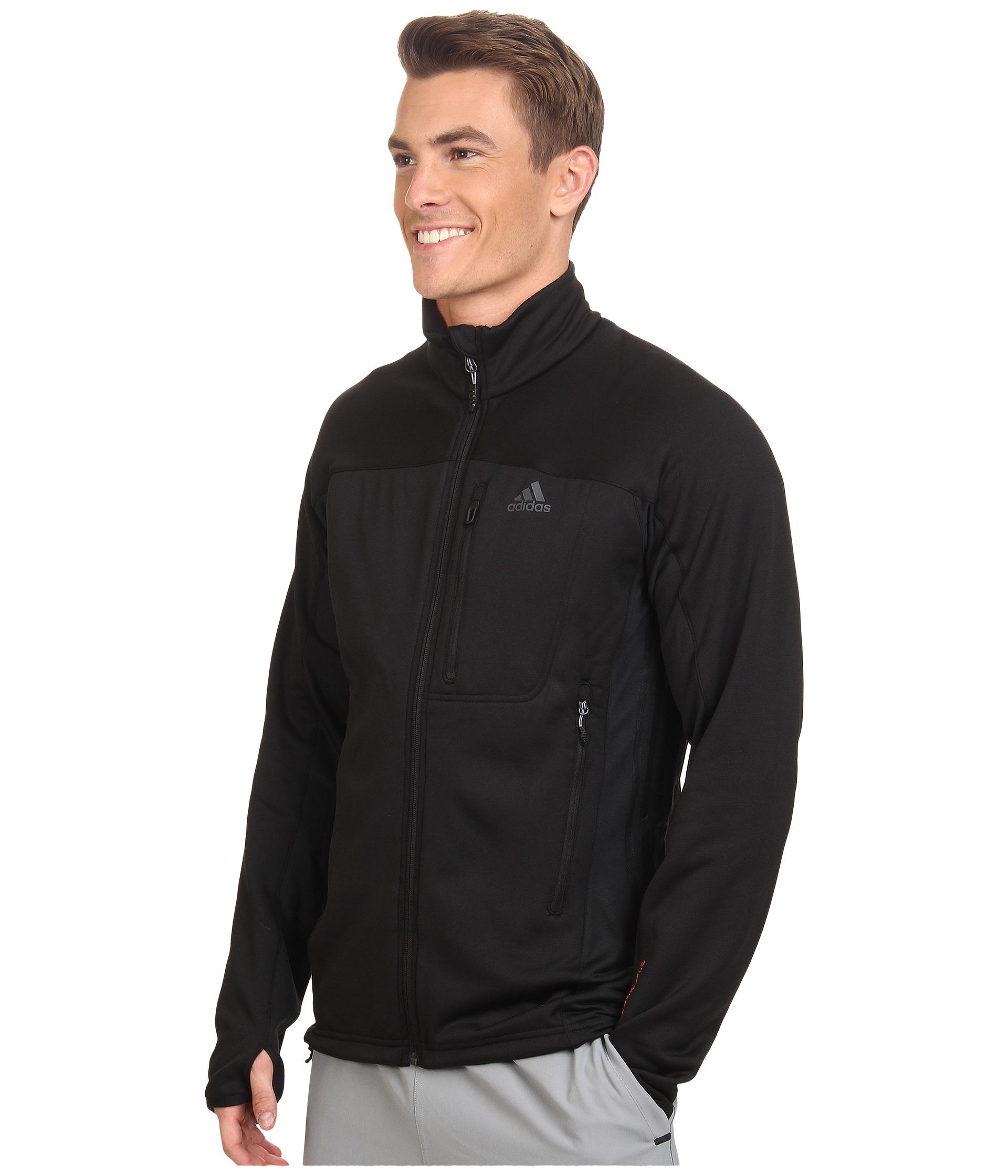 db6fea72d78a Lyst - adidas Terrex Swift Hollow Fleece Jacket in Black for Men