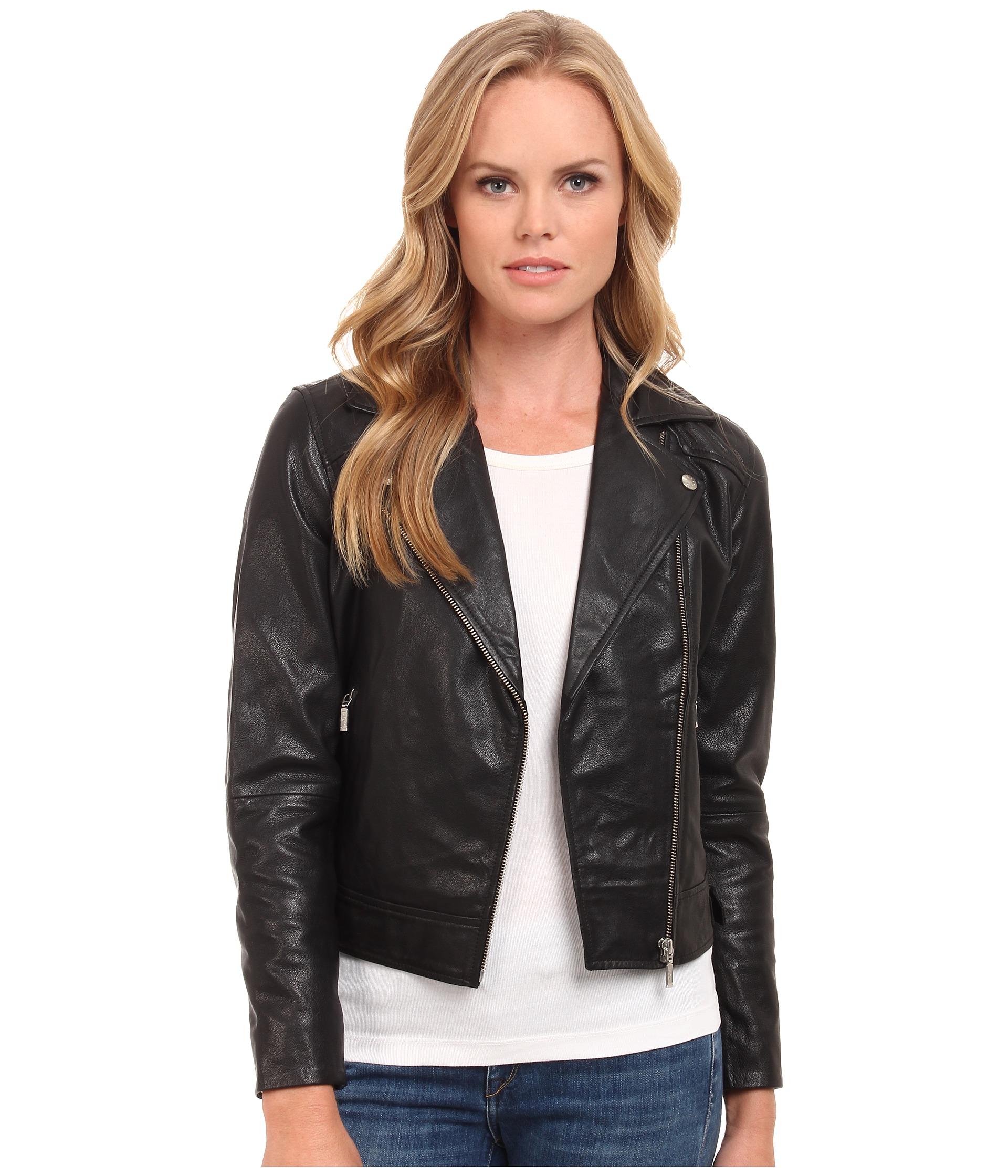 Lyst - Levi'S Levi's Leather Biker Jacket
