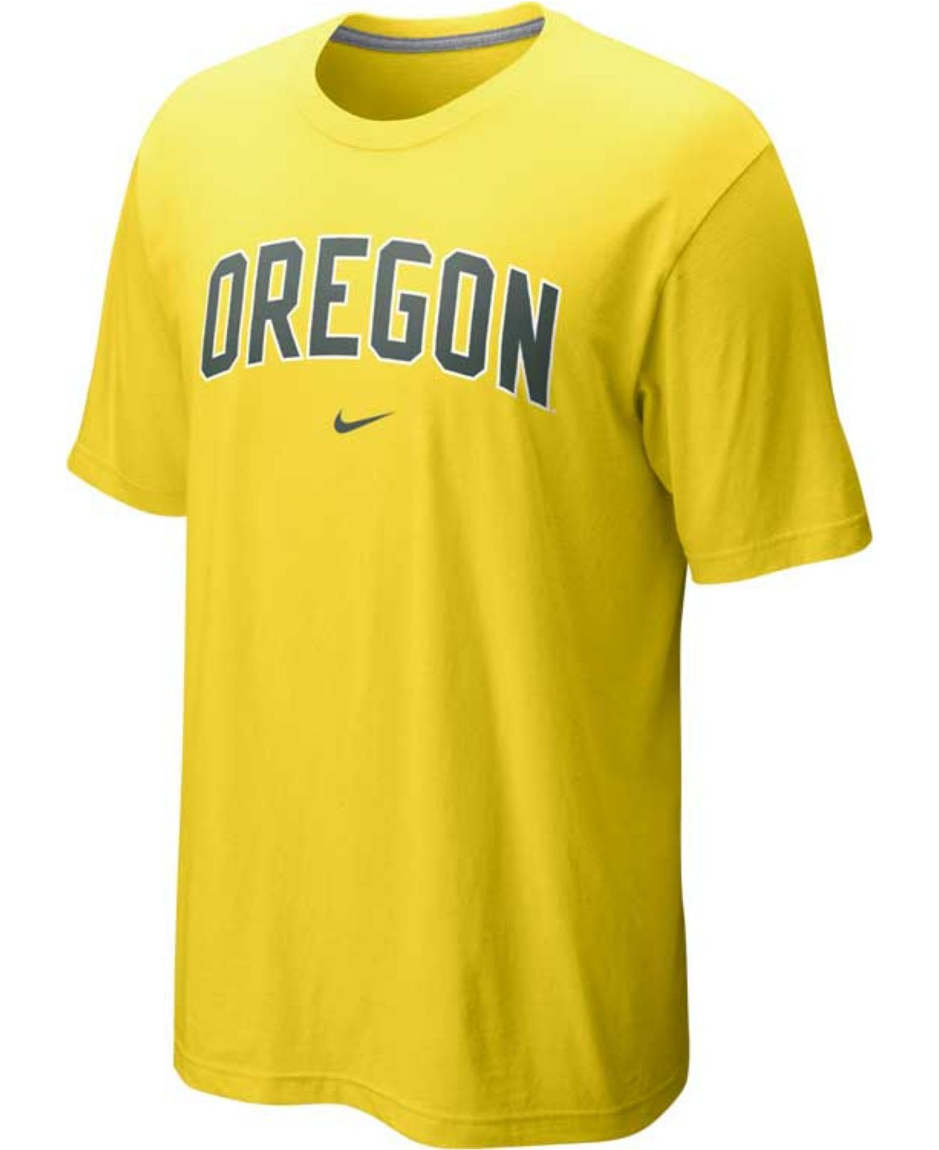 nike men 39 s oregon ducks classic arch t shirt in yellow for