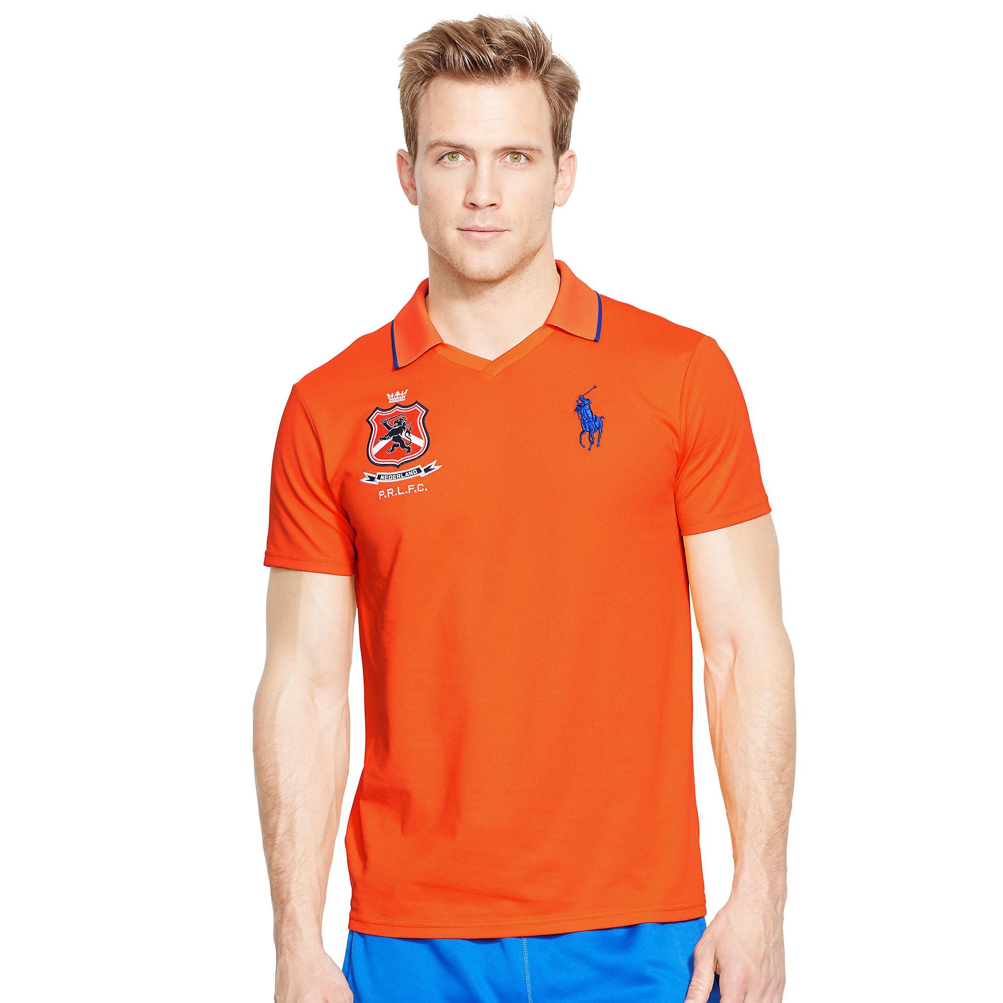 01dd8d47d8cb Lyst - Ralph Lauren Netherlands Polo Shirt in Orange for Men
