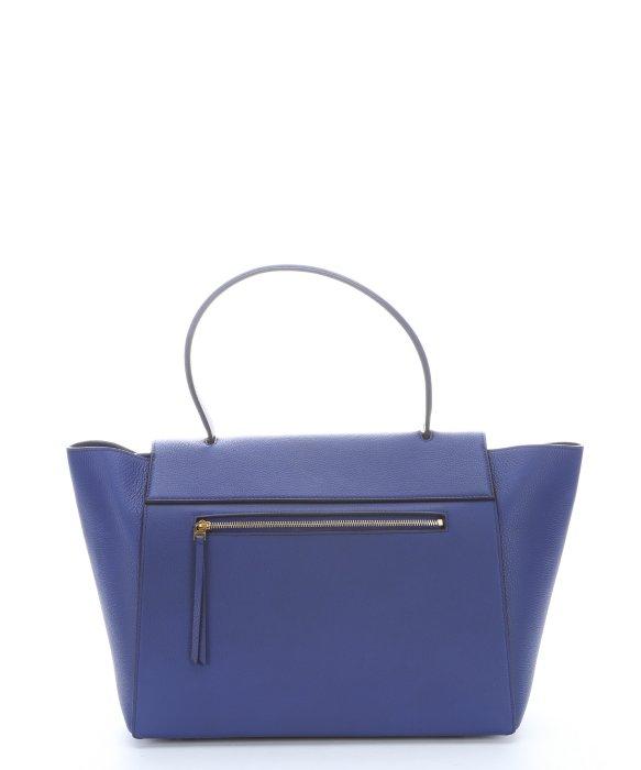 8d83fb8895 Céline Indigo Leather  Belt  Small Trapeze Tote in Blue - Lyst