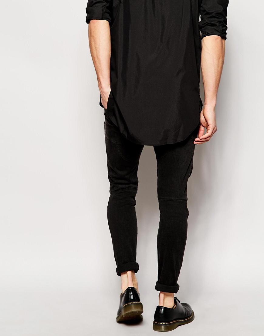 g star raw jeans elwood 5620 3d super slim stretch black. Black Bedroom Furniture Sets. Home Design Ideas