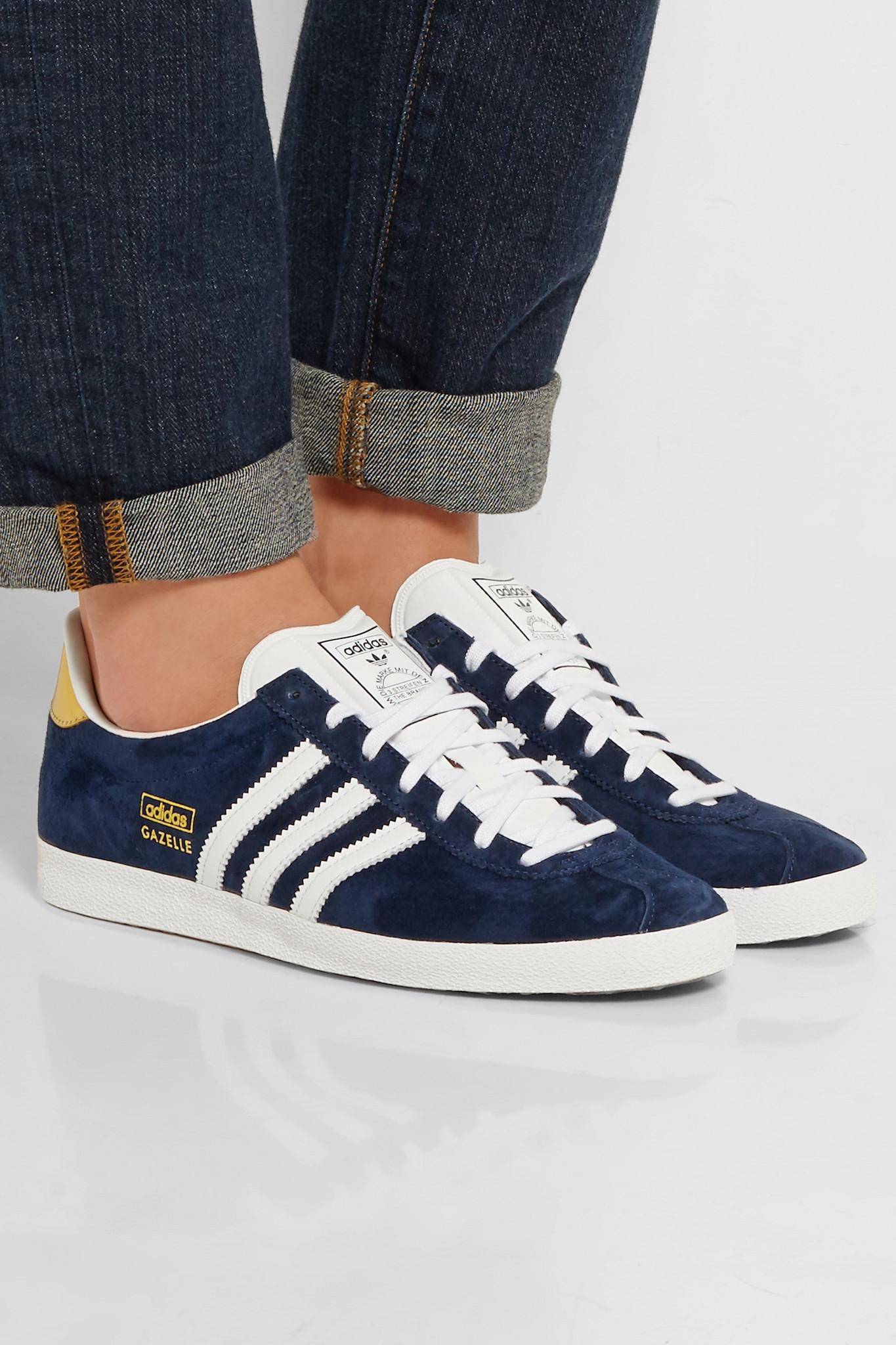 Lyst Originals In Sneakers Dg SvXqxZP 8nwx4iq764 Gazelle Adidas Suede Blue 6xqT1p4w