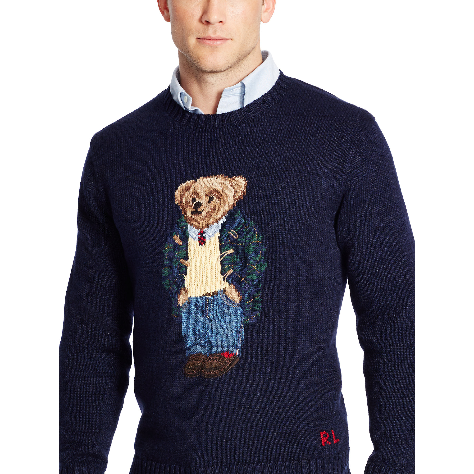 Polo Ralph Lauren Teddy Bear Sweater Mens 38