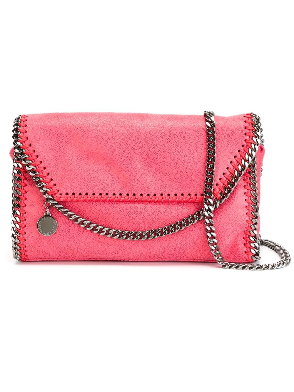 Stella Mccartney Falabella Crossbody Bag In Metallic Lyst