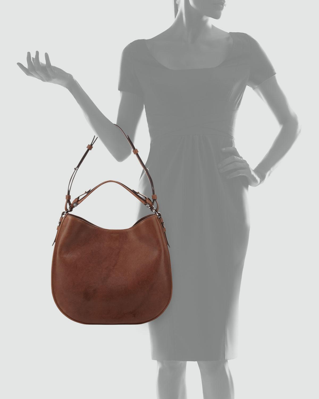 Lyst - Givenchy Obsedia Medium Zanzi Hobo Bag Medium Brown in Brown 0f9421fdbf