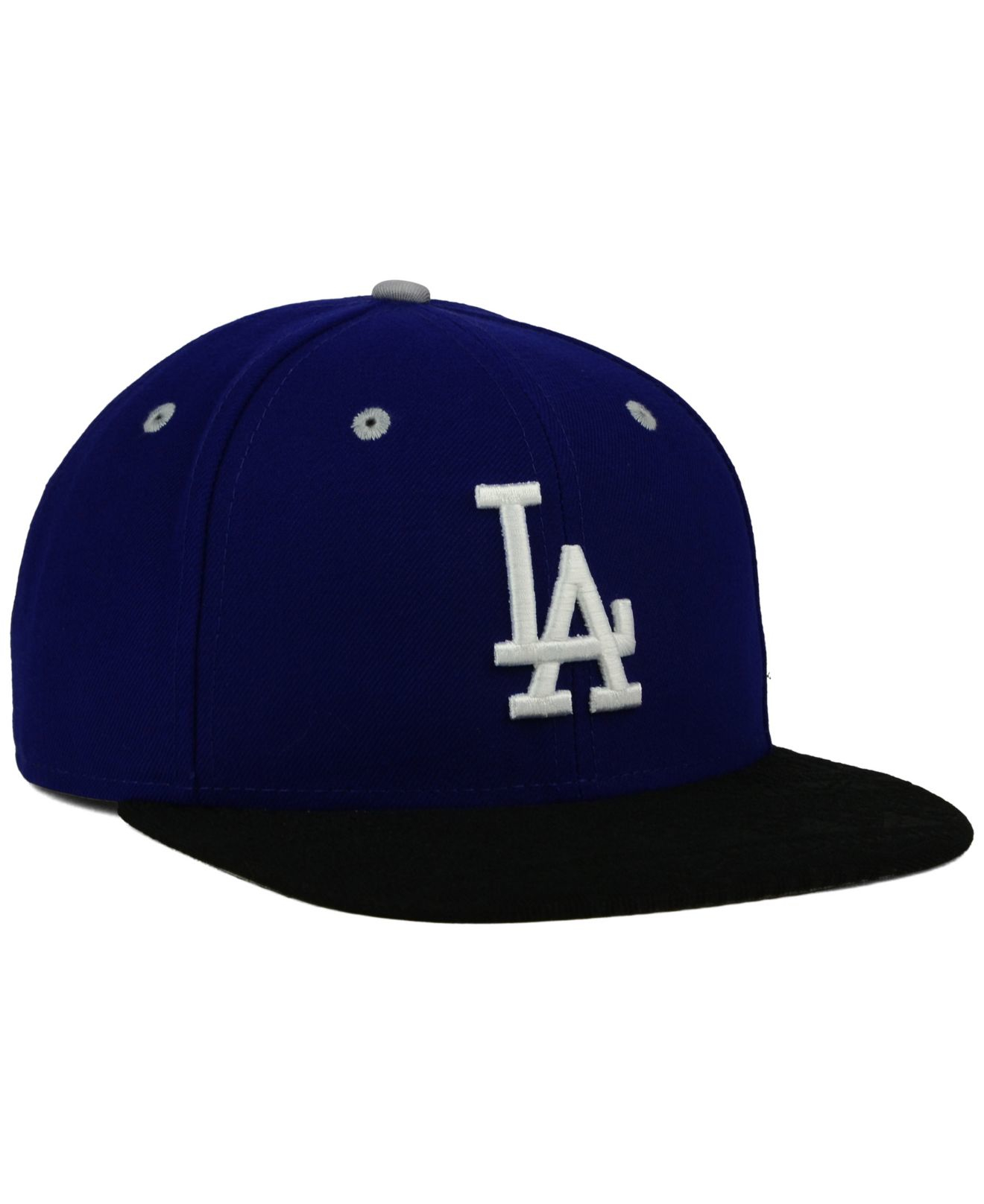 newest 36f33 b38fe ... sale lyst ktz los angeles dodgers tone 9fifty snapback cap in blue for  men b98ed 0d06d