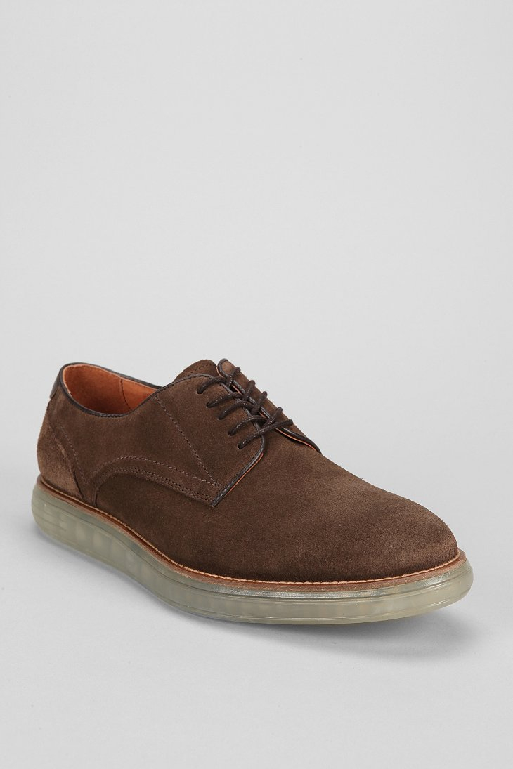 h by hudson boson oxford shoe in brown for men lyst. Black Bedroom Furniture Sets. Home Design Ideas