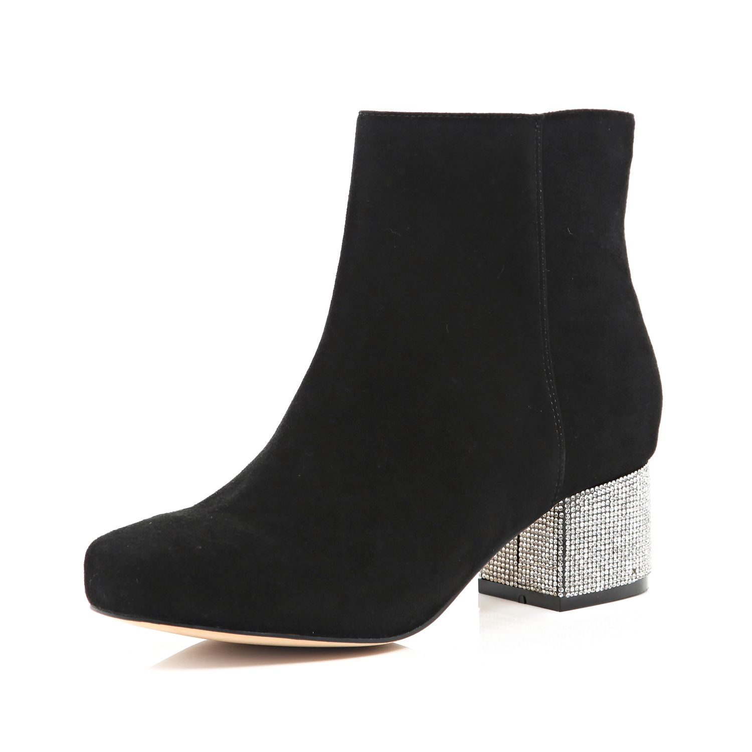 Black Ankle Boots Shoe Carnival