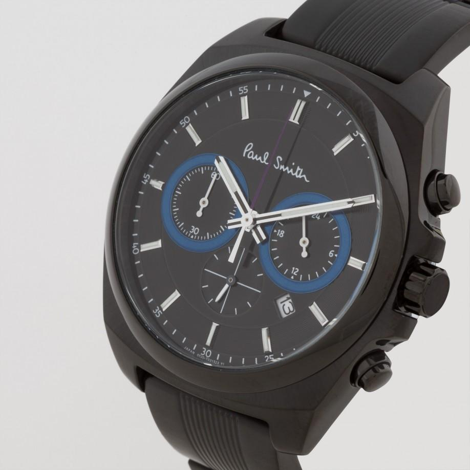 paul smith limited edition black 39 final eyes 39 chronograph