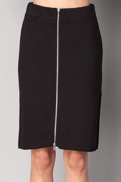 cheap monday midi skirt maxi skirt in black lyst