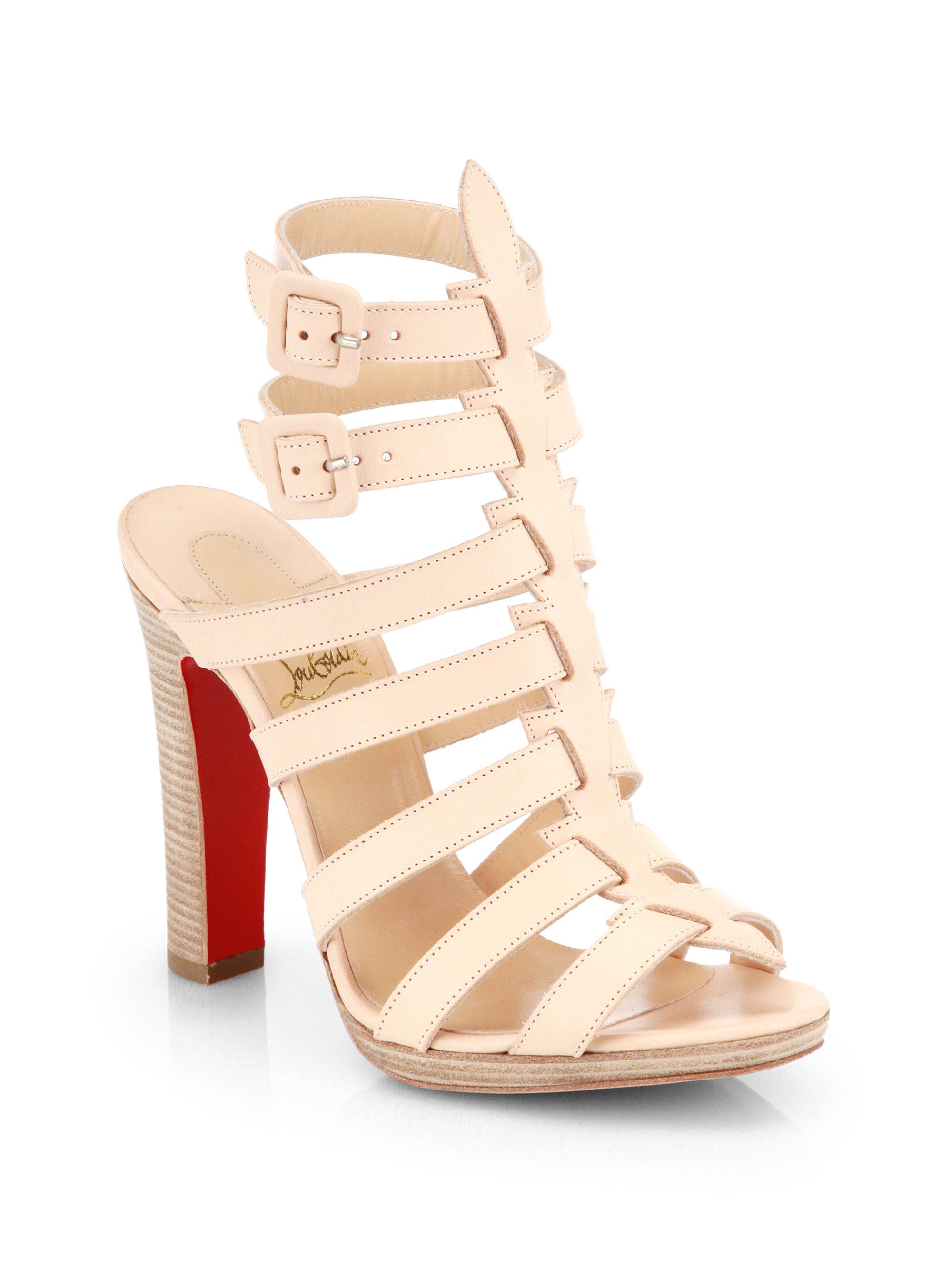 gold christian louboutin shoes - christian louboutin women's pyrabubble platform sandals, christian ...
