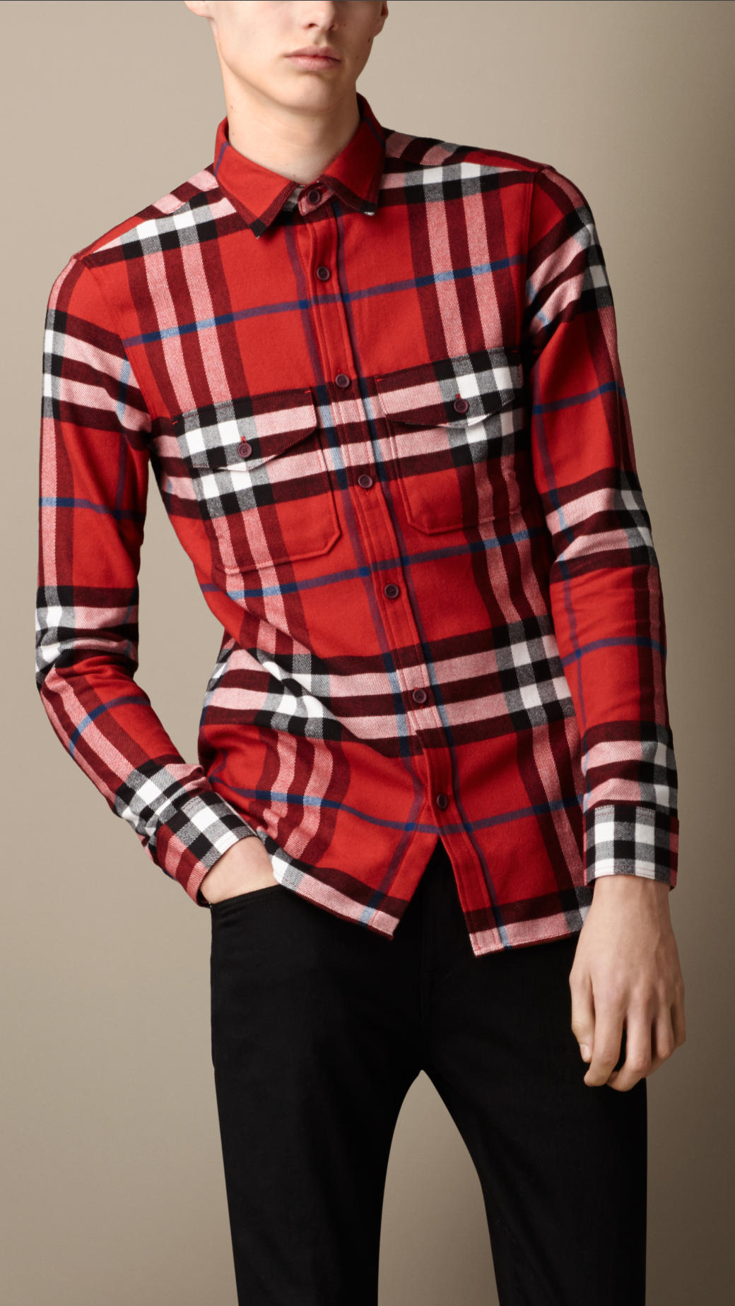 Burberry Mens Dress Shirts
