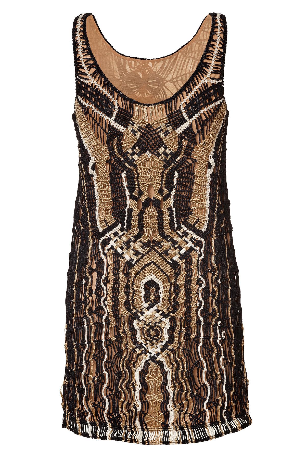 Diane Von Furstenberg Short Dress In Black Lyst
