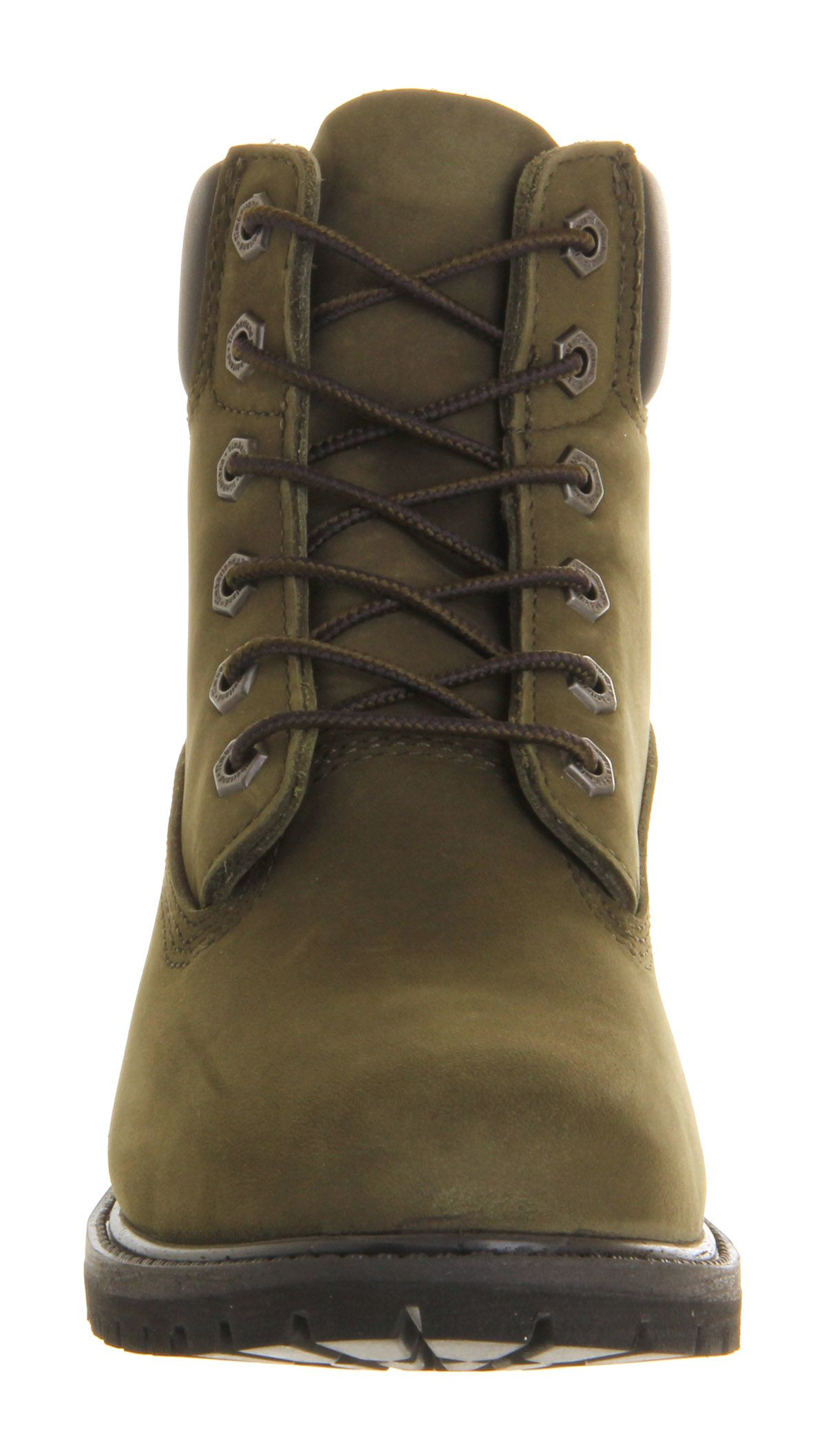 New Timberland Womens Jewels Pack Dark Green Gables 6 Inch Boots CA1KC6 | TOWER London