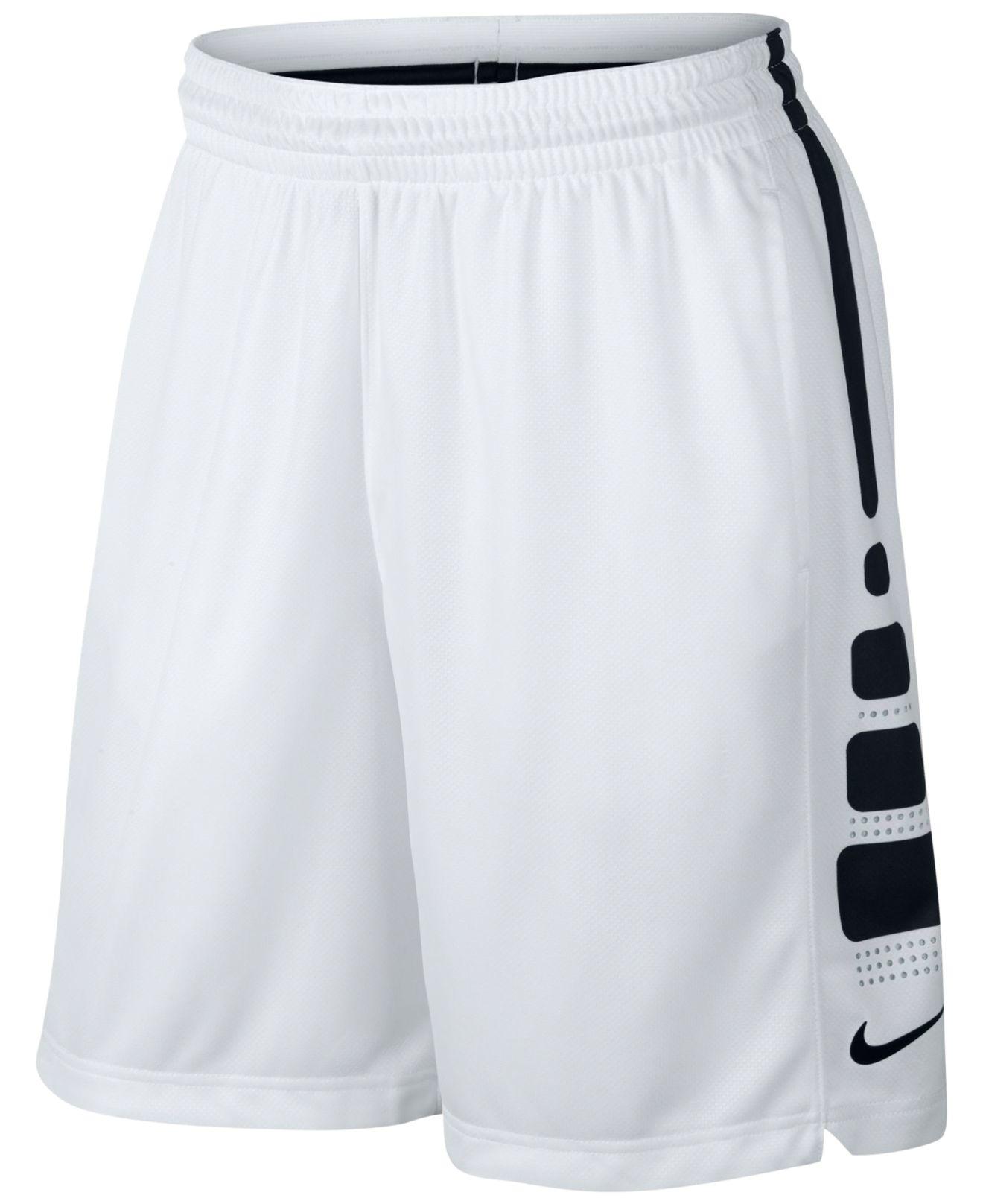2061e772 Nike Elite Dri-fit Basketball Shorts in Black for Men - Lyst