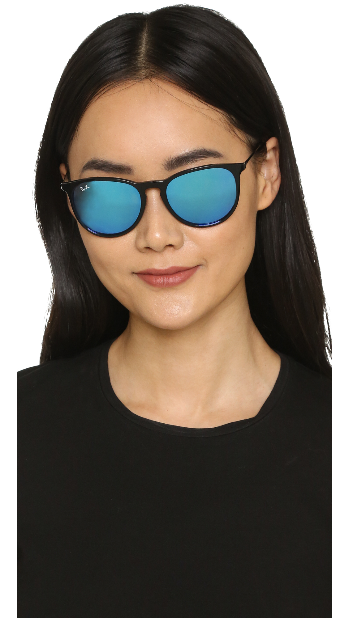 fd7d84d452 Ray-Ban Erika Sunglasses in Black - Lyst