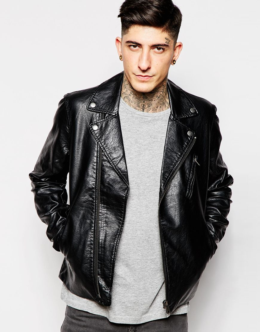 Leather jacket cheap