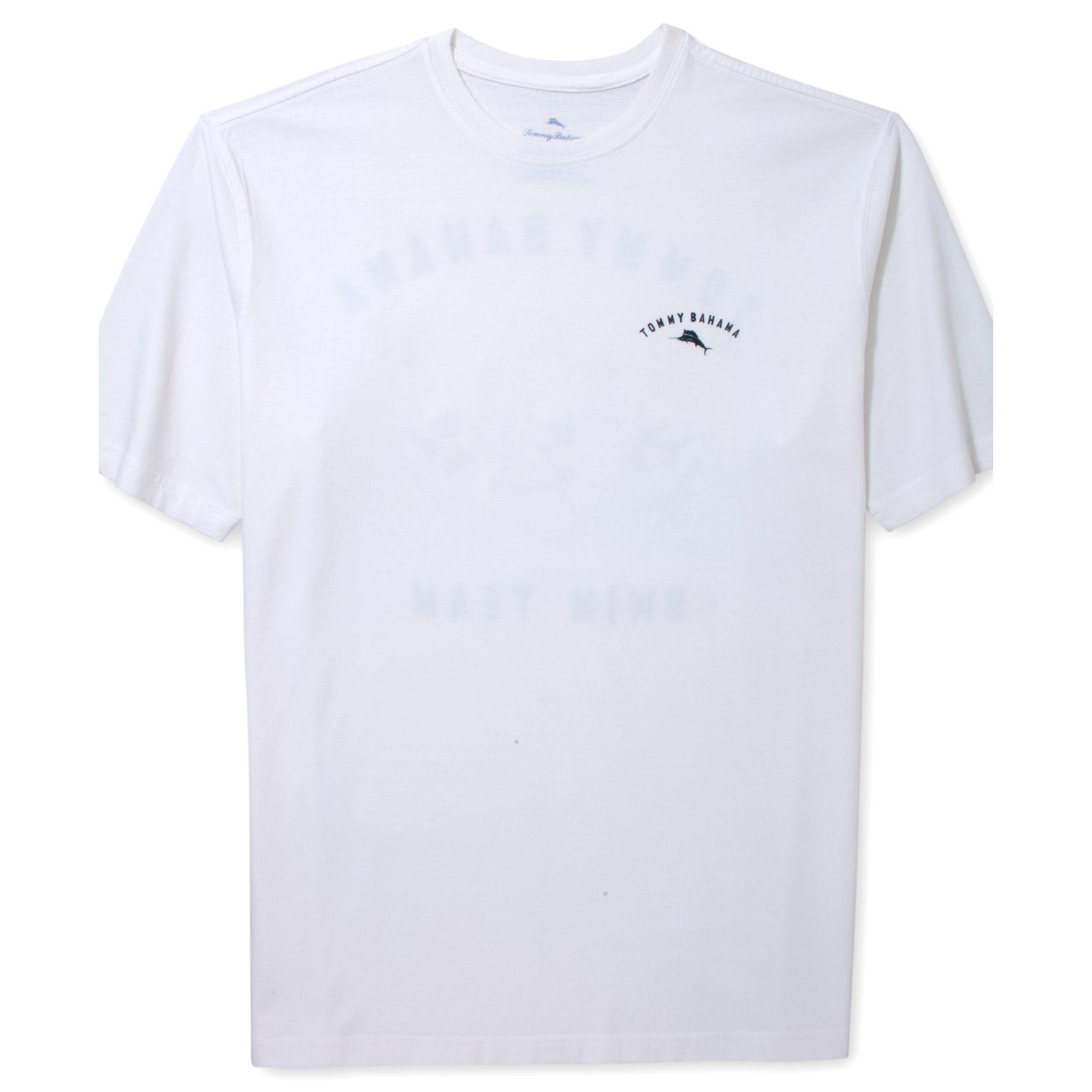 Tommy Bahama Swim Team Tshirt In White For Men Lyst