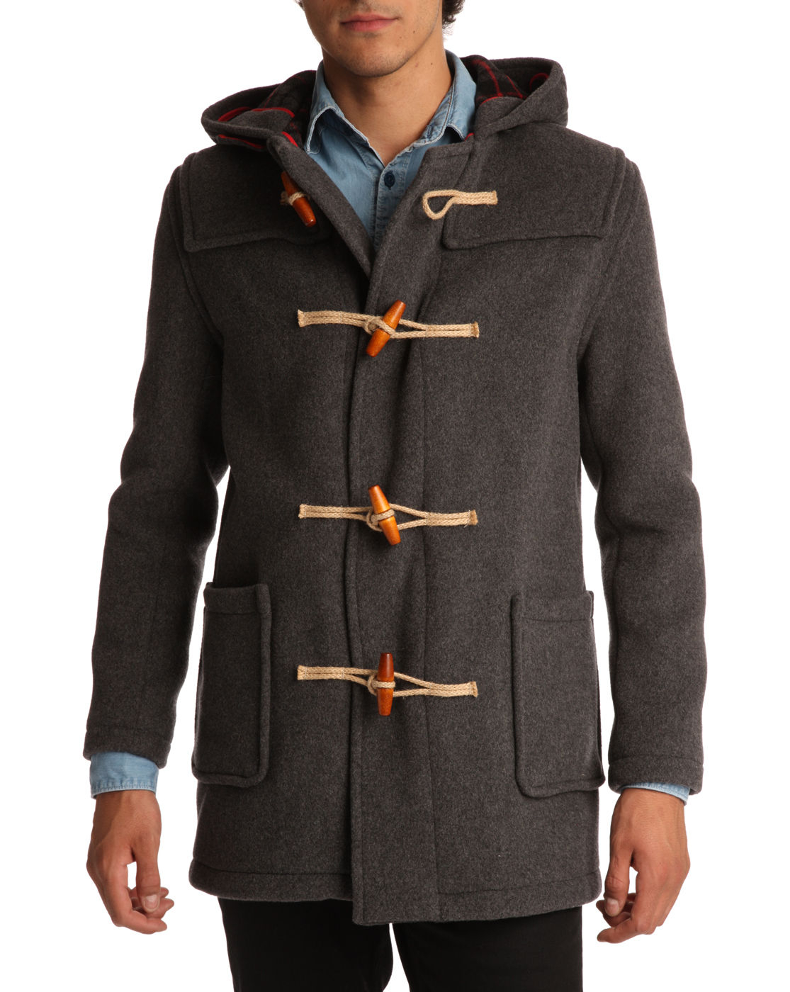 Gloverall Mens Duffle Coat - Coat Nj