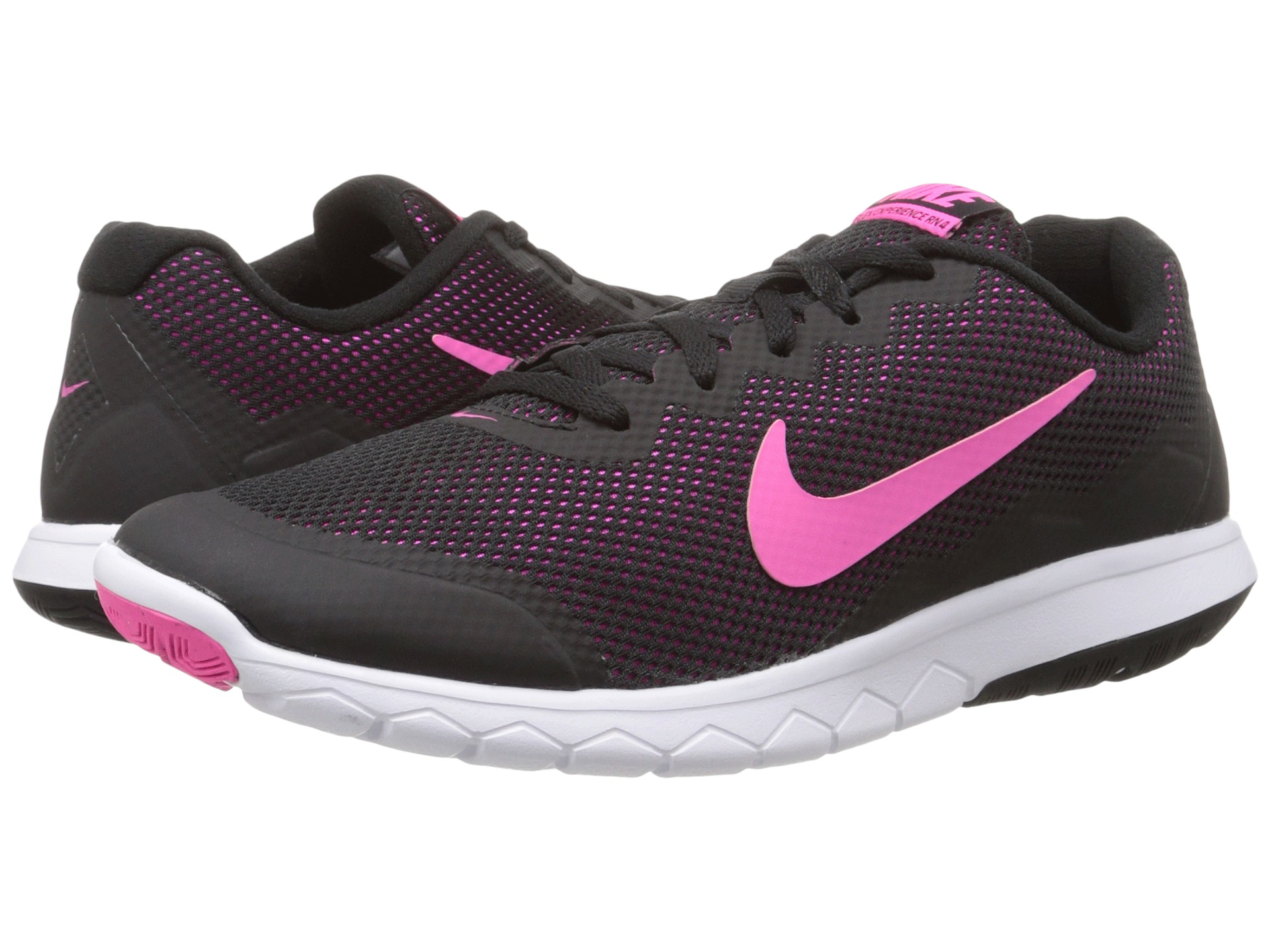 nike flex experience run 4 in pink lyst. Black Bedroom Furniture Sets. Home Design Ideas