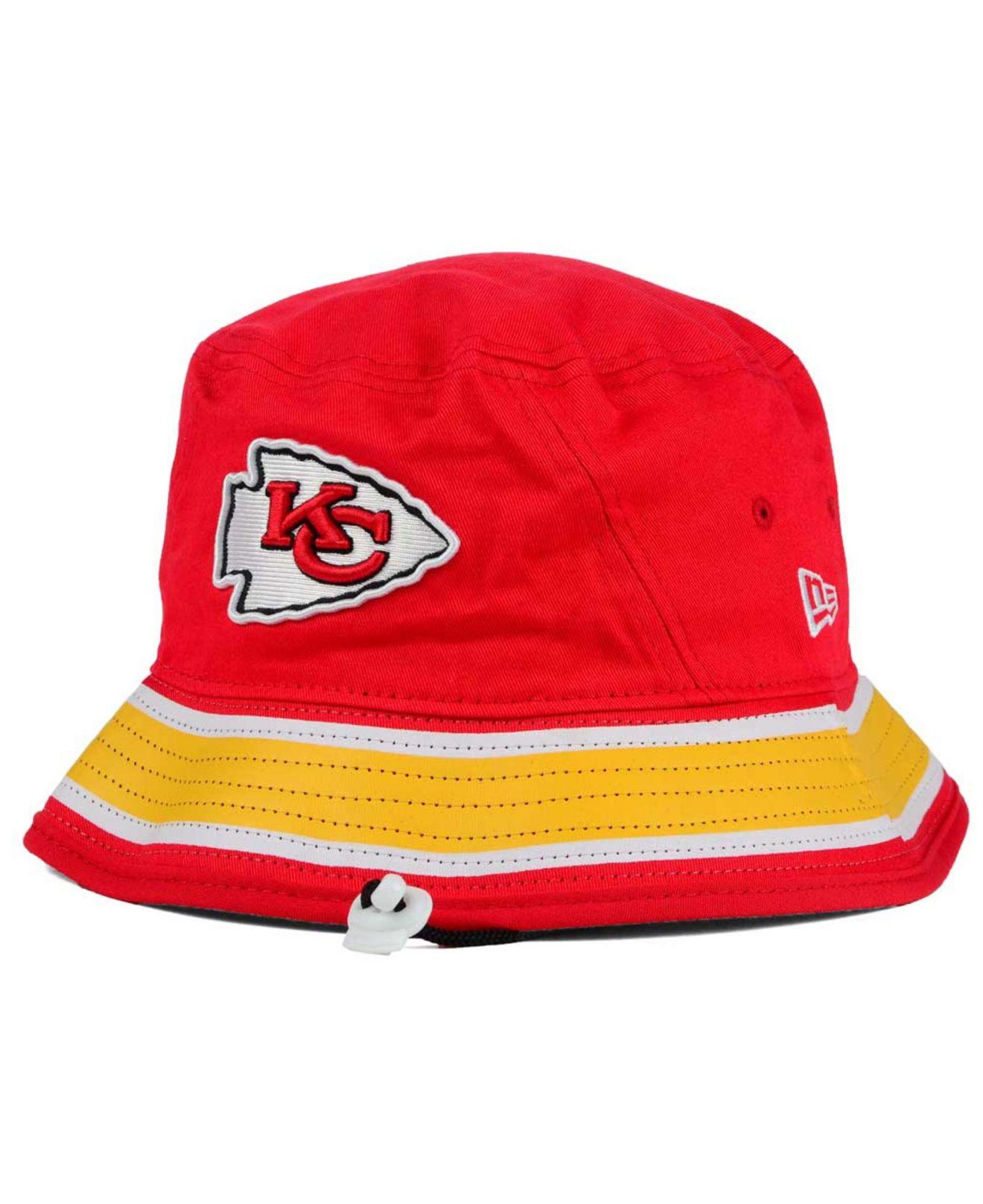 c87f1a0b9 purchase kansas city chiefs bucket hat bc3fa 25e62