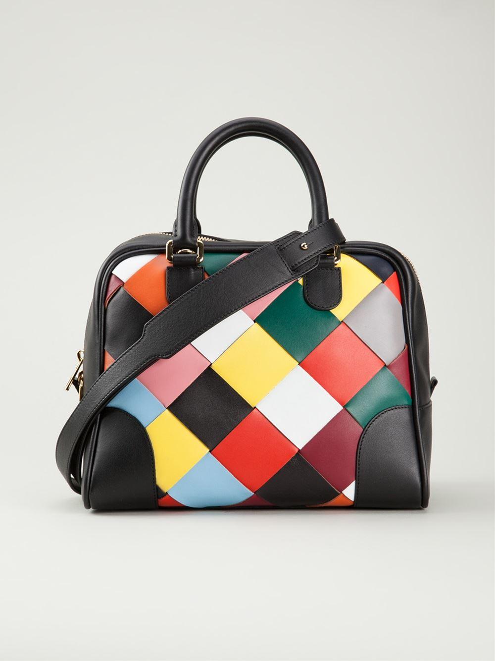 Lyst - Loewe Woven Tote Bag 312468bd44689