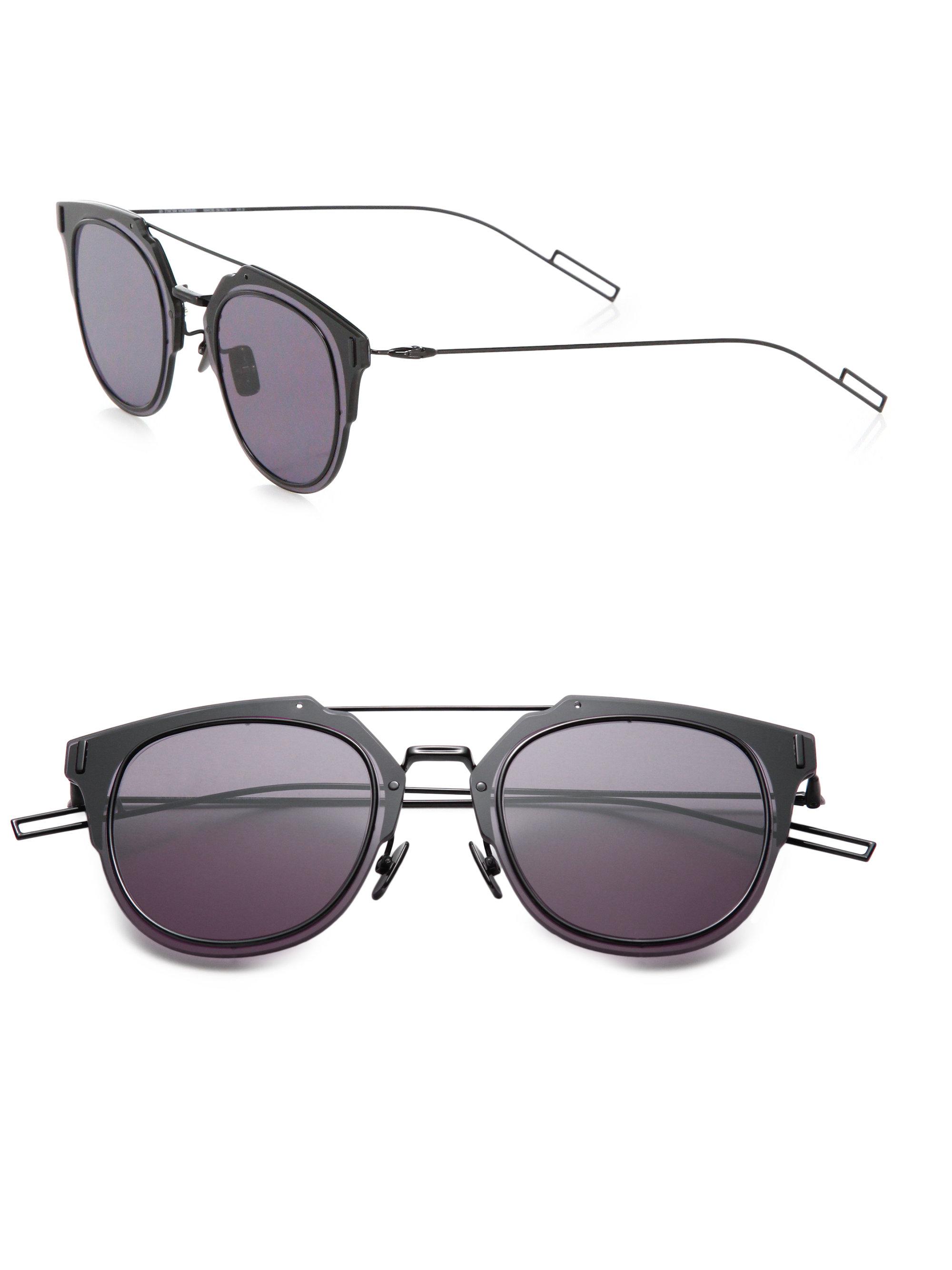 af606508cfb2a Lyst Dior Homme Composit 1 0 Sunglasses in Black for Men