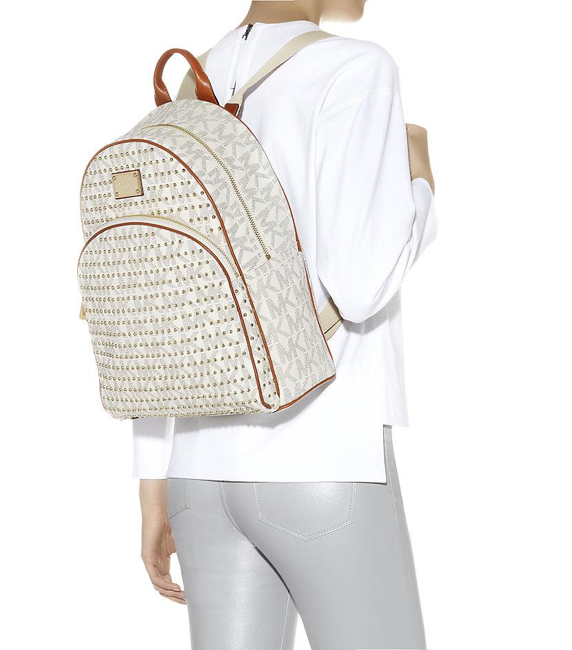 f174a823b2939e michael kors studded large backpack jet set shoulder bag medium ...