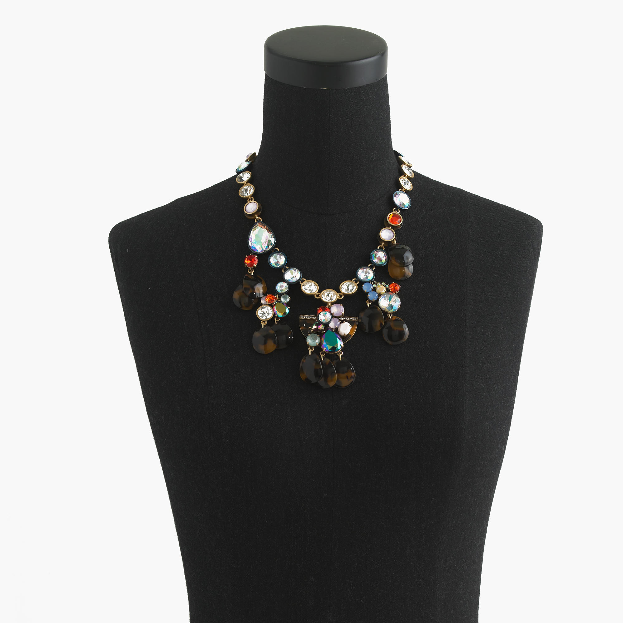Paillette necklace lyst for J crew jewelry 2015