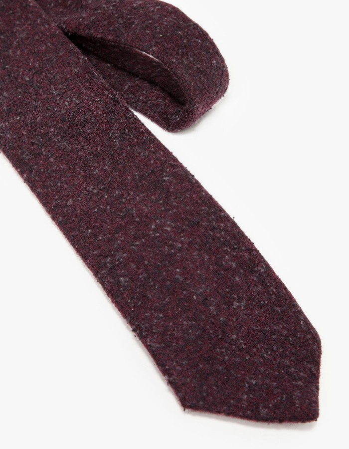 81d69c109da1 Apolis Wool Tie in Cranberry in Purple for Men - Lyst