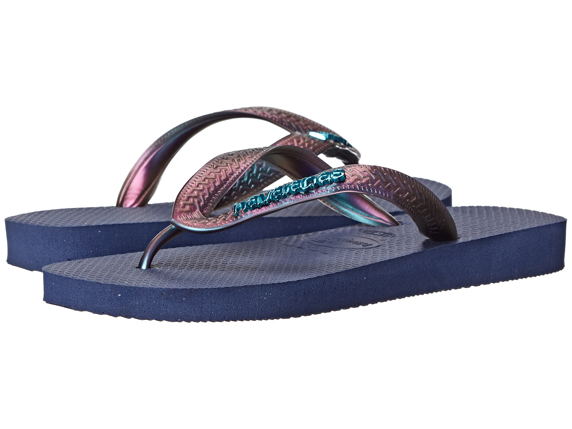c7b6d86d6 Lyst - Havaianas Top Furta Cor Flip Flop in Blue