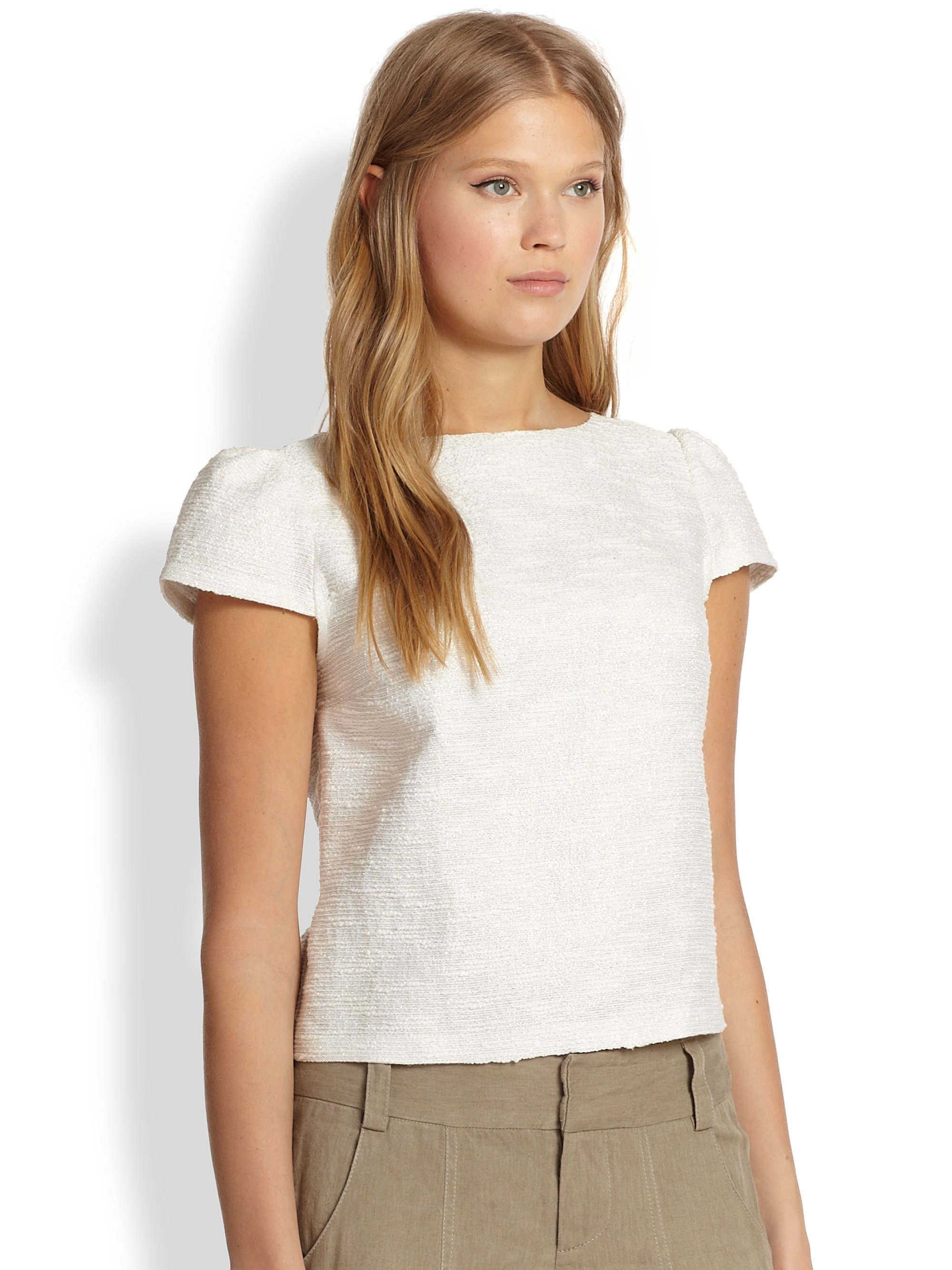 Tops with Cap Sleeves
