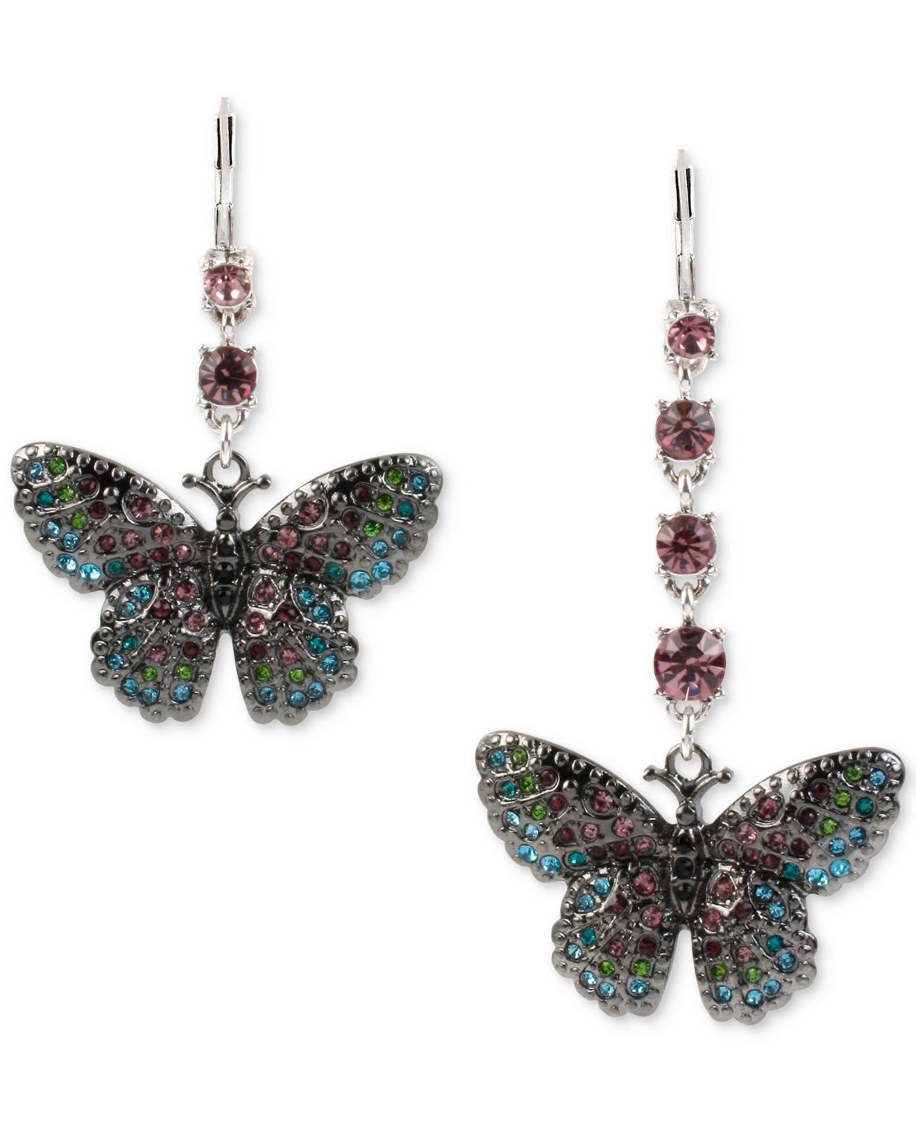 Betsey Johnson Fish Earrings Collection