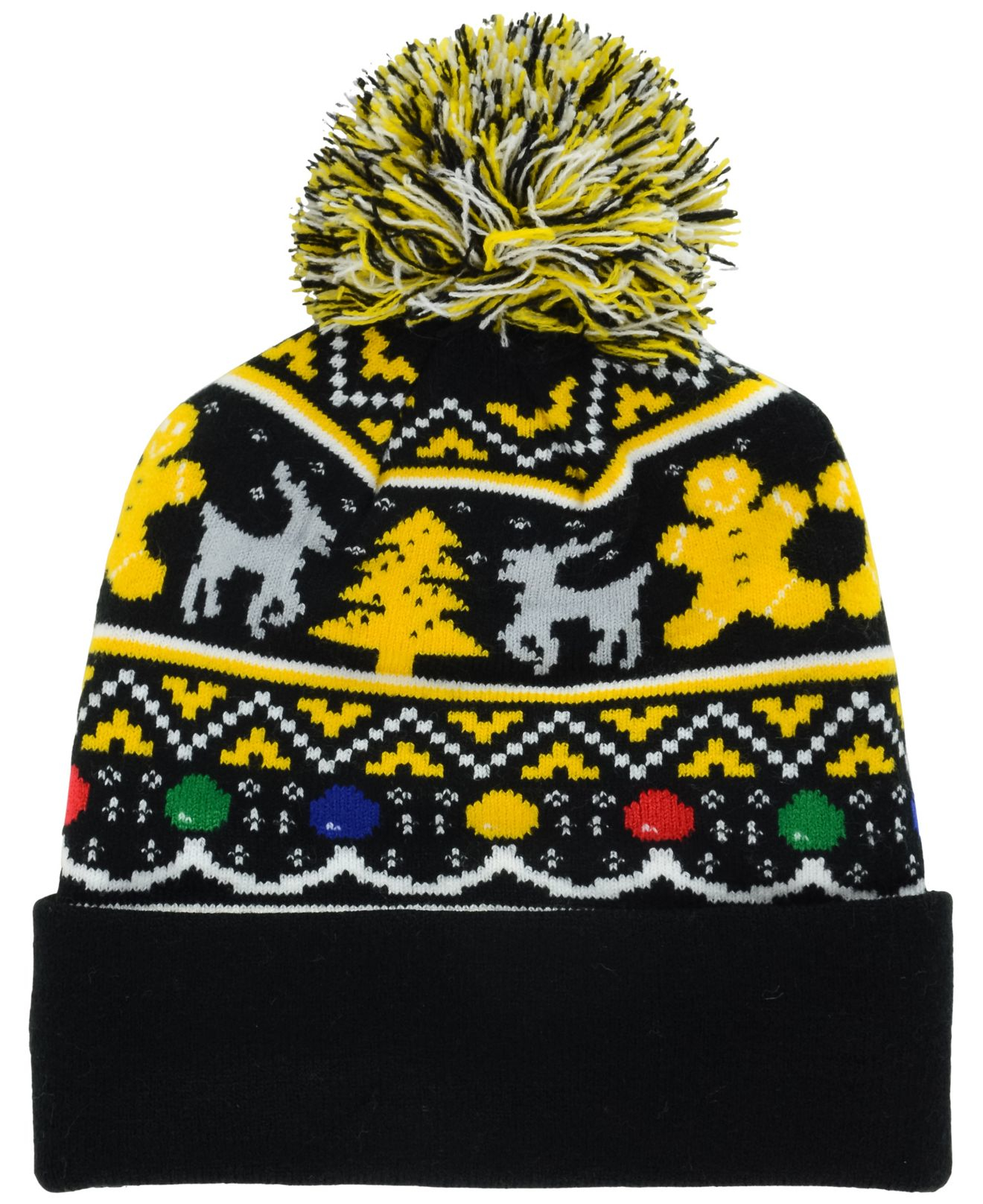 Lyst - KTZ Pittsburgh Steelers Christmas Sweater Pom Knit Hat for Men 4fabef0b6