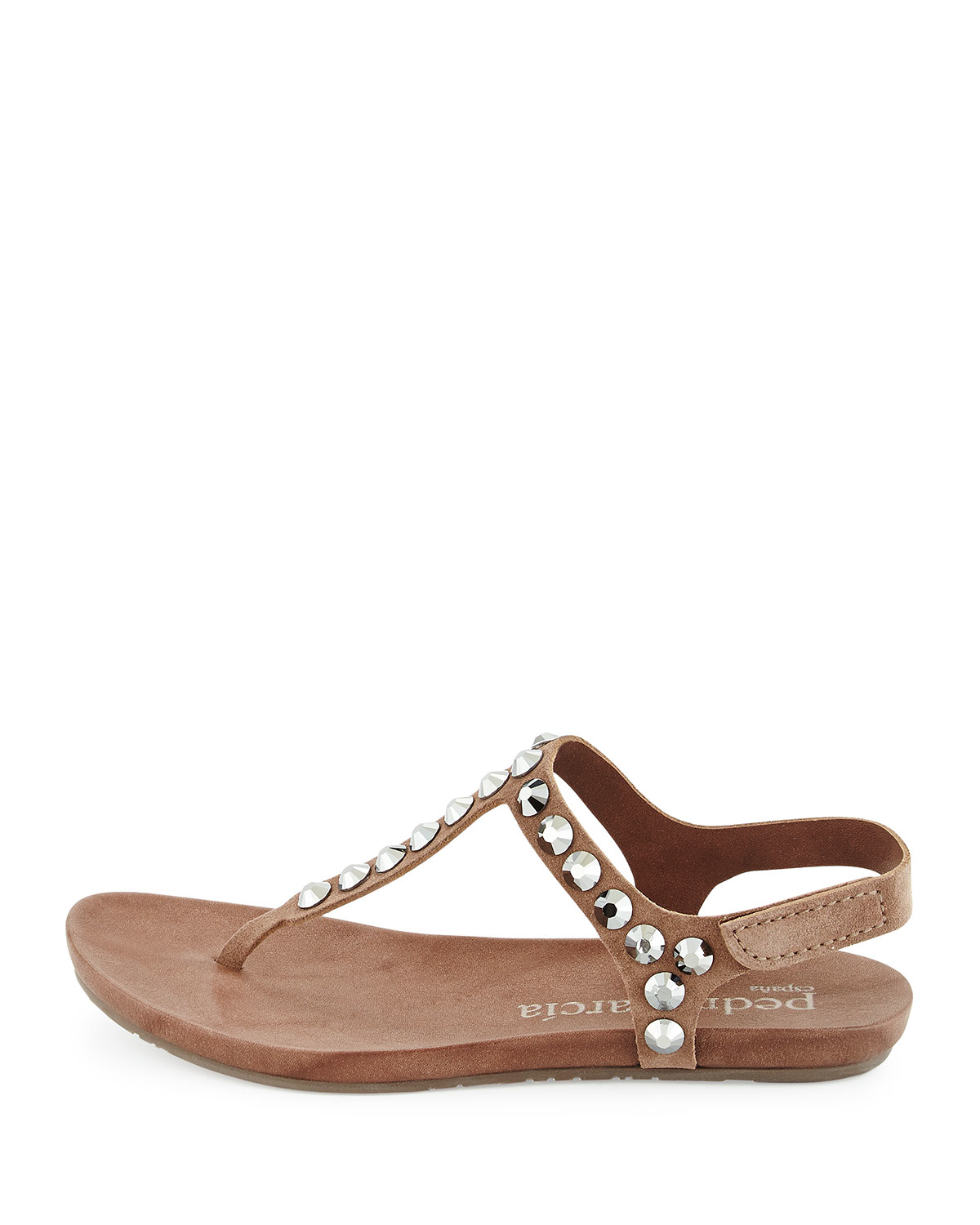 free shipping eastbay official site Pedro Garcia Suede Embellished Sandals original for sale 7TvsWP