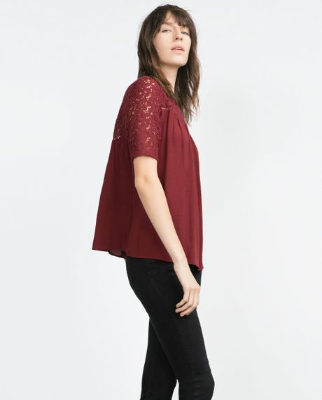 Zara Purple Blouse 64