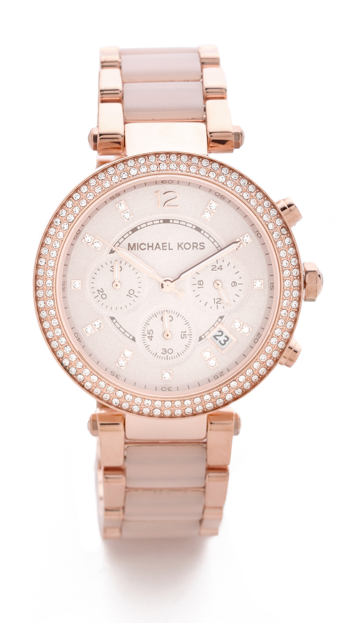How to change the date on a michael kors watch in Australia
