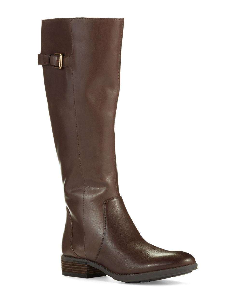 sam edelman patton boots in brown lyst