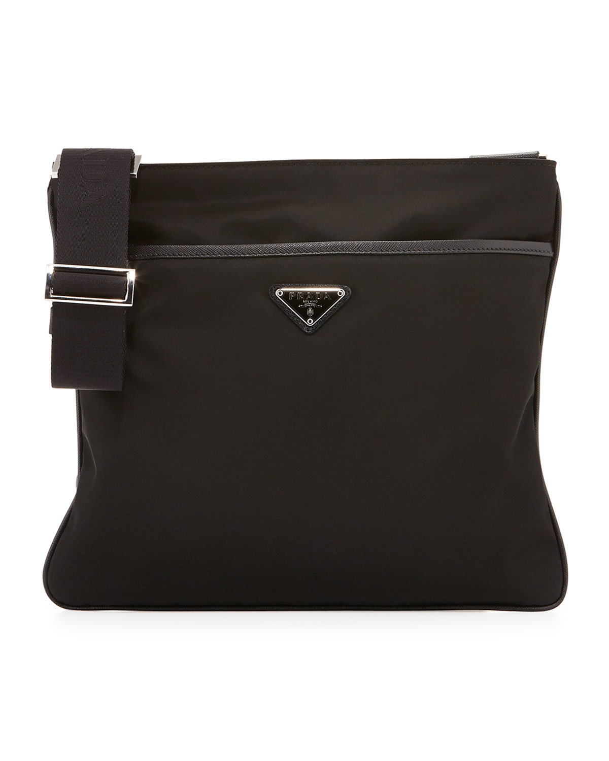 prada bags com - Prada Nylon Crossbody Bag in Black for Men | Lyst