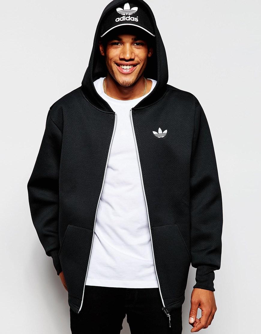 d21e3b2647ef Lyst - Adidas Originals Neoprene Hoodie Ab7831 in Black for Men