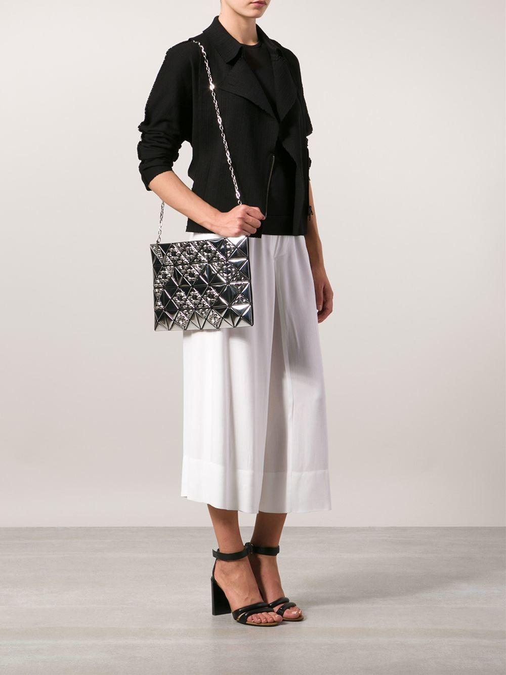 Lyst Bao Bao Issey Miyake Prism Shoulder Bag In Metallic